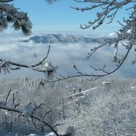 Cutigliano., paesaggio invernale